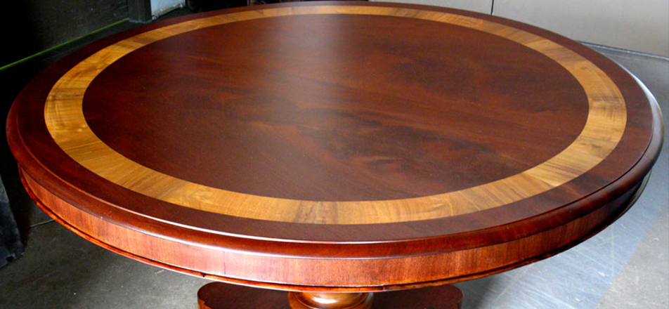 Custom Wooden Round Dining Table