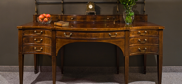 types of antique desks you will find at local antique stores