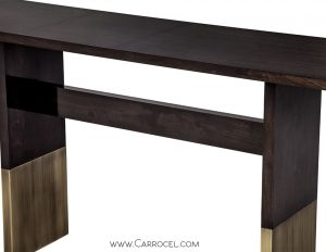 Art Deco Inspired Console Table Made by Carrocel