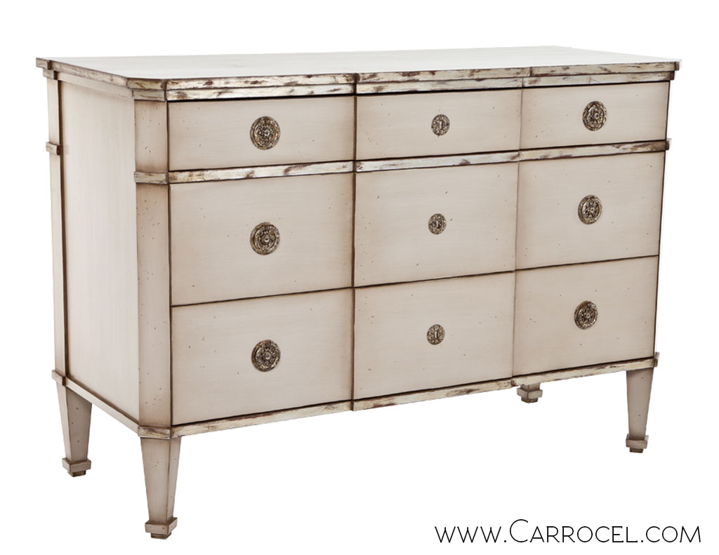 Carrocel Custom Antique Danish Style Commode 1