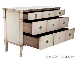 Carrocel Custom Antique Danish Style Commode