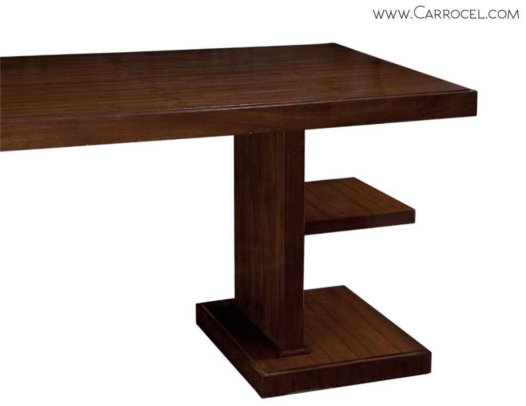 home products office desks custom made walnut art deco office desk