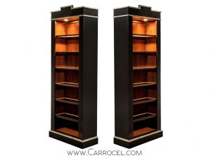 Pair of EJ Victor Bookcases