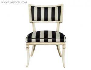 Distressed French Accent Chairs