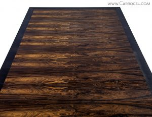 Custom Macassar Over Sized Coffee Table