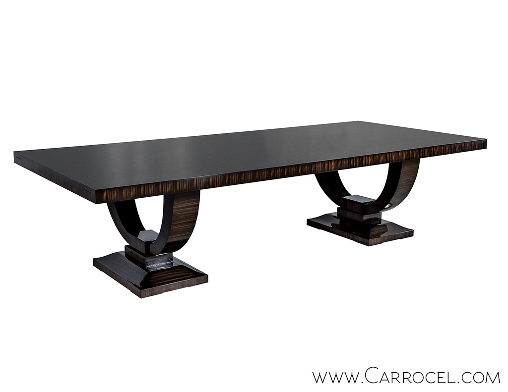 Carrocel Custom Macassar Ebony Dining Table 1