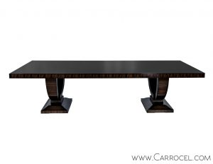 Carrocel Custom Macassar Ebony Dining Table
