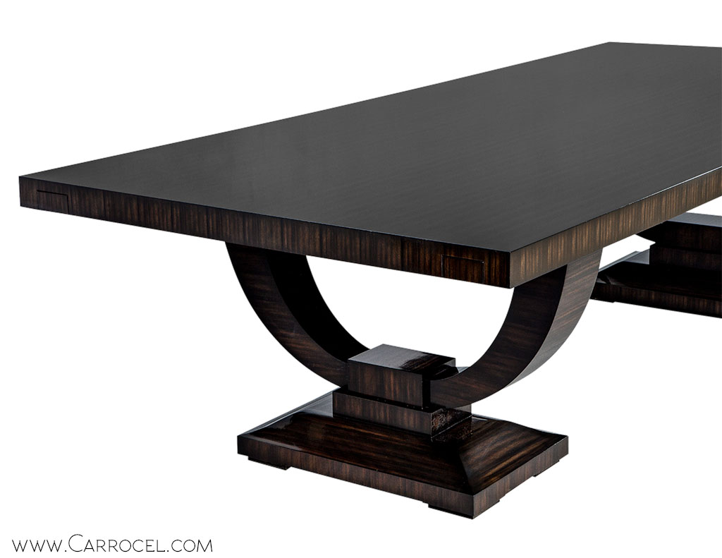 Attrayant ... Carrocel Custom Macassar Ebony Dining Table 3 ...