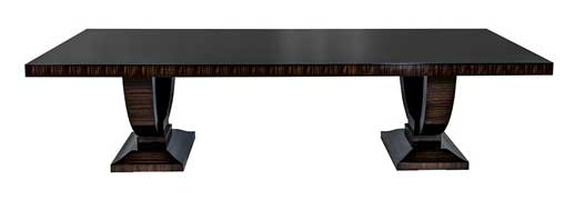 Carrocel's Macassar Ebony Dining Table