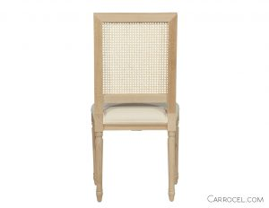 Louis Capet Custom Cane Dining Chair - Side