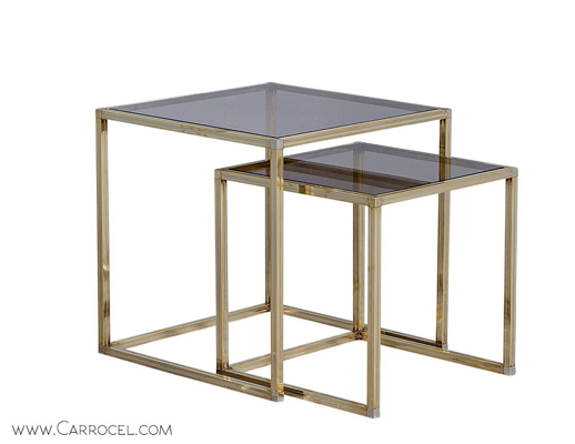 elegant nesting tables