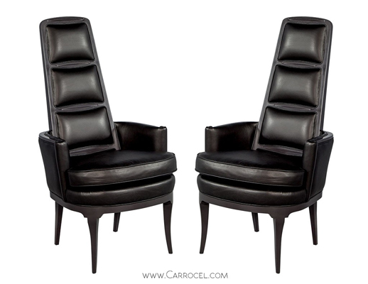 sleek captain chairs