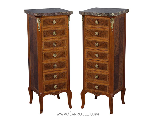 Louis XVI Style Lingerie Chests