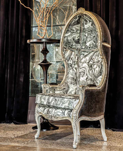 Carrocel's Custom Accent Chair