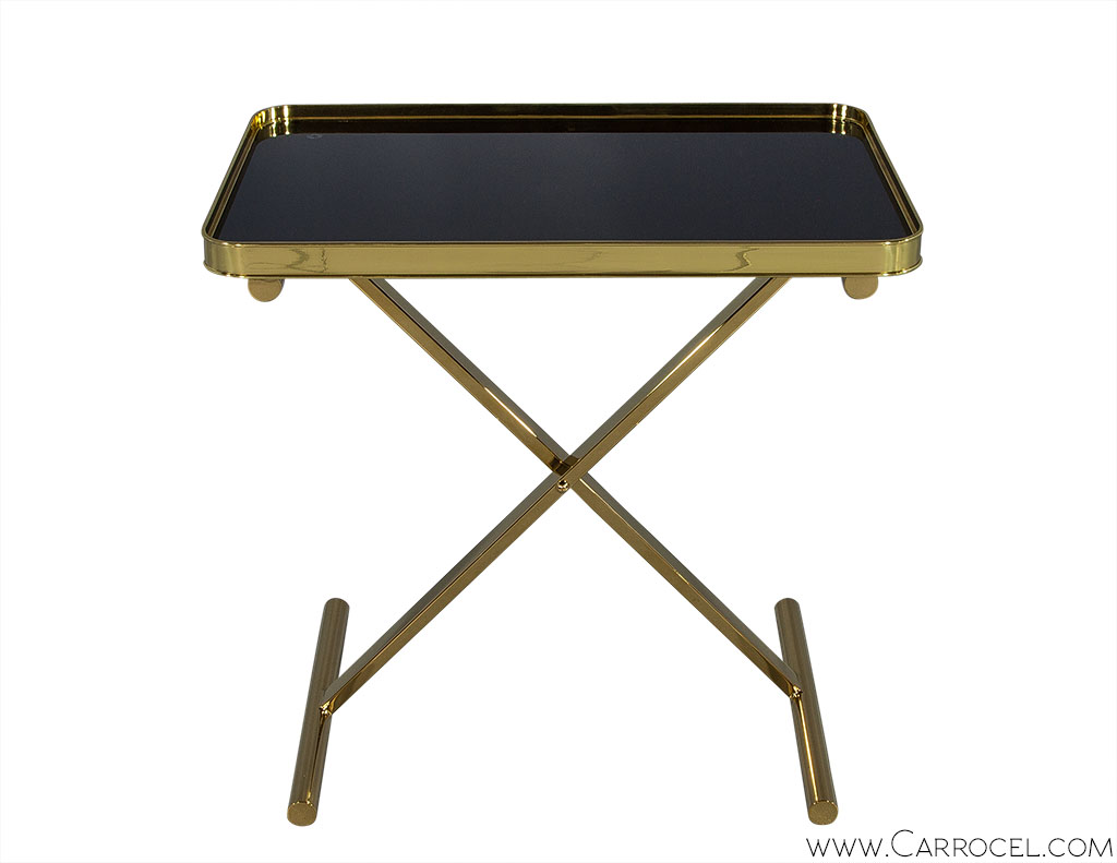 Ralph Lauren One Fifth Cross Brace Tray Table