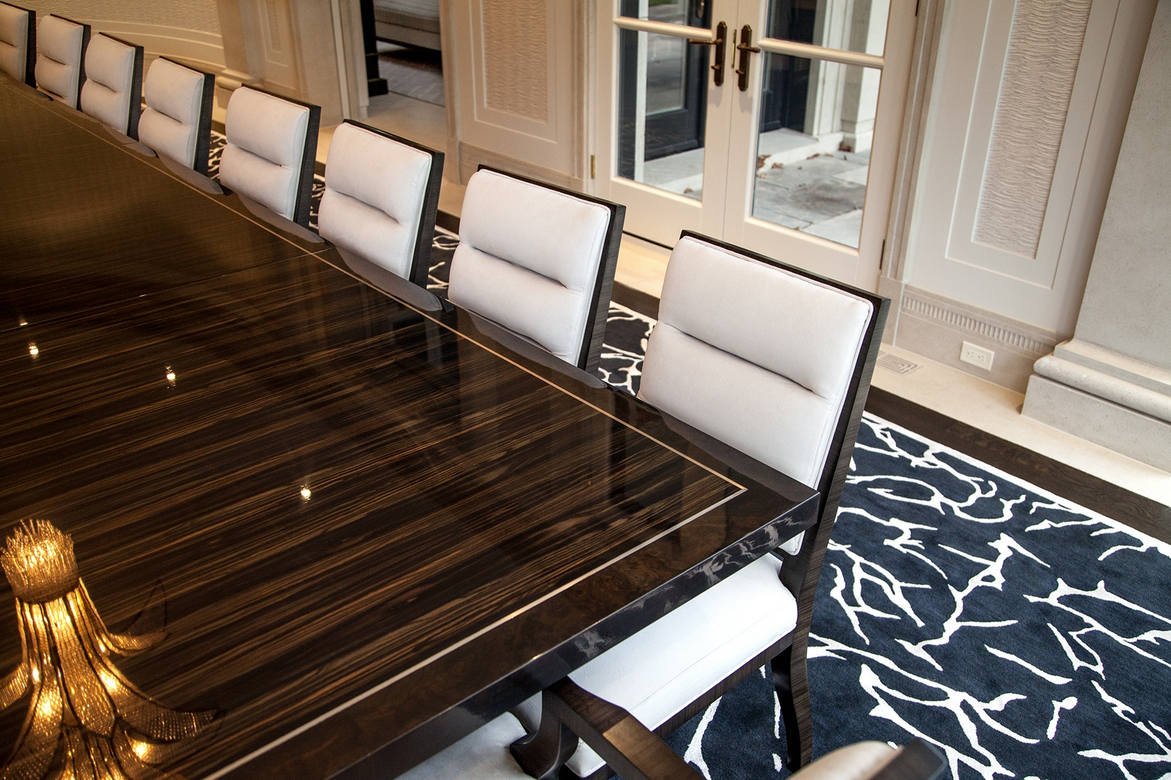 Custom Grand Modern Styled Dining Table
