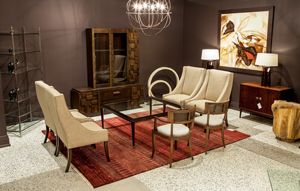 Contemporary Transitional Livingroom Suite Carrocel Showroom 001