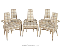 Set of 6 Mid Century Modern Dining Chairs