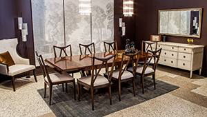 Carrocel Custom Traditional Transitional Dining Suite