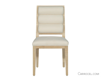 Carrocel Straight Leg Deco Custom Dining Chair