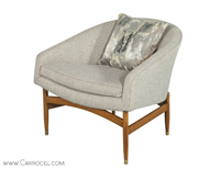 Carrocel Mid Century Modern Arm Chair