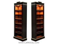 Carrocel Pair of EJ Victor Bookcases
