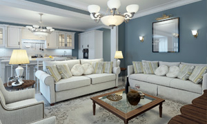 Carrocel Living Room Design
