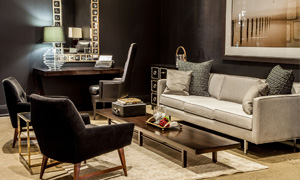 Carrocel Living Room Showroom Display