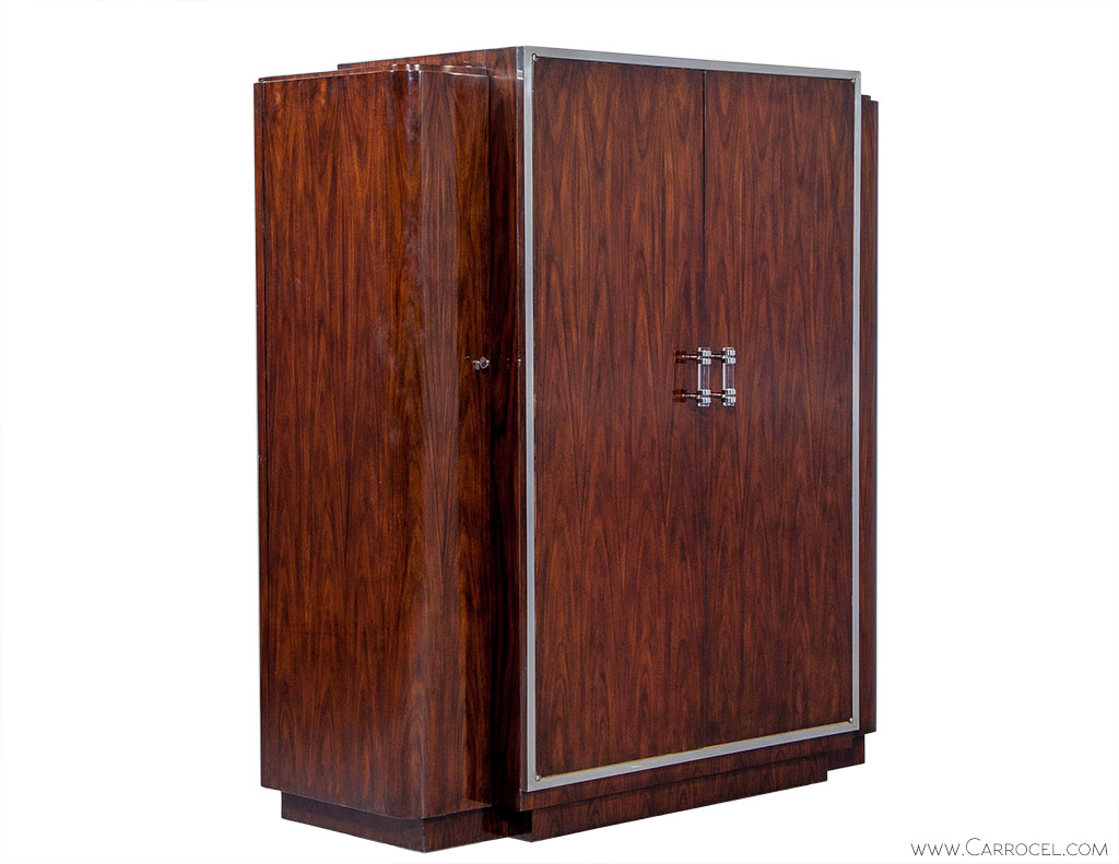 Art Deco Style Duke Wardrobe by American Designer