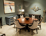 Carrocel Custom Dining Suite Deco Influenced Custom Table Chairs