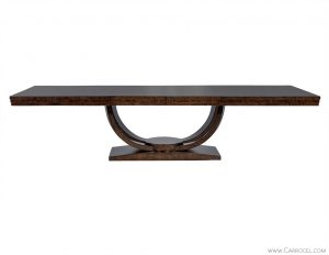 Carrocel Custom Olive Burled Dining Table