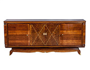 French Art Deco Sideboard Attributed