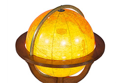 Floor Globe Lamp from Carrocel