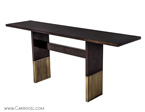 Art Deco Inspired Console Table