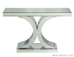 Art Deco Style Mirrored Console