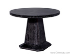 French Art Deco Cerused Occasional Table