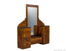 Original Art Deco Vanity with Marble Top