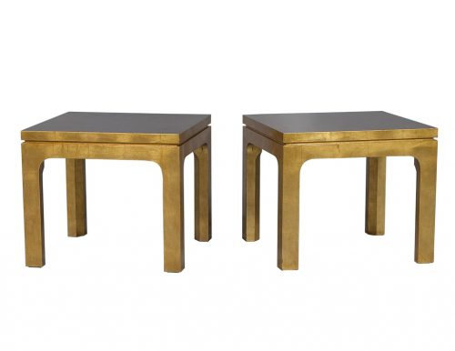 Gold Gilt End Tables
