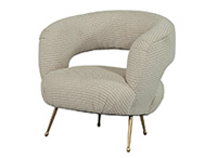 Modern Upholstered Lounge Chair