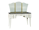 Art Deco Vanity with Black Marble Top