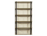 Burnished Bronze Bookshelf