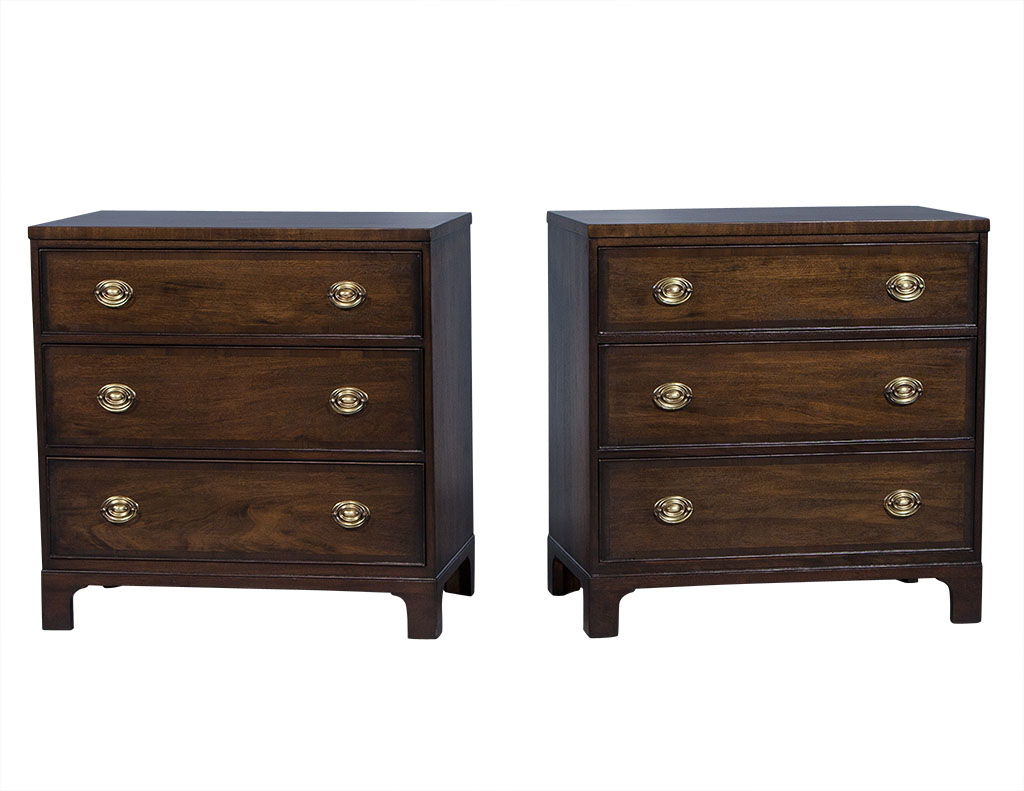 Walnut Kittenger Chest of Drawers