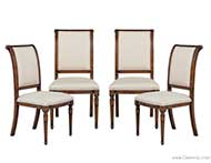 Set of 4 hillock dining side chairs