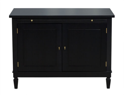 Randal Tysinger  Ebonized Chest with pullout shelf