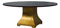 Flamed Mahogany Dining Table
