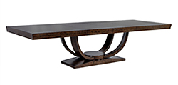 Olive Burled Dining Table