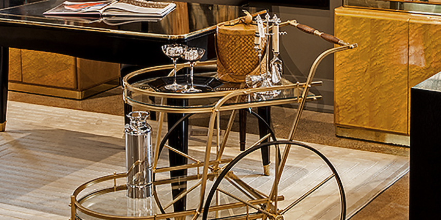 High-End Bar Carts