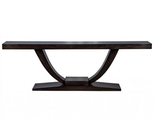 Carrocel Custom Art Deco Console Table