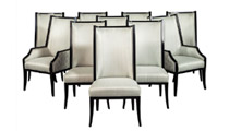 Carrocel Custom D'Barto Dining Chairs – Set of 10