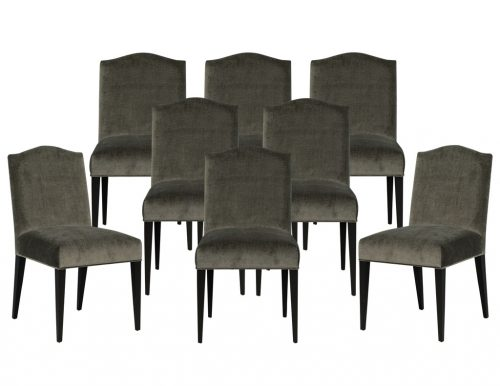 Set of 8 Carrocel Custom Chameau Dining Chairs